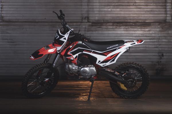 Motocykl XMOTOS - XB87 140cc 4t  17/14