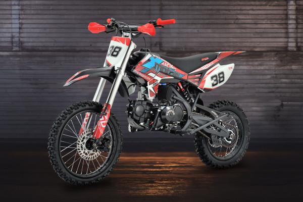 Motorcycle XMOTOS - XB38 125cc 4t 17/14