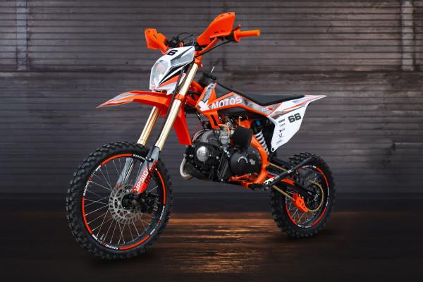 Motorcycle XMOTOS - XB66 125cc 4t 17/14