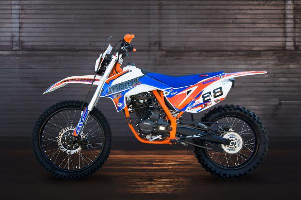Motorcycle XMOTOS - XB88 PRO 250cc 4t 21/18