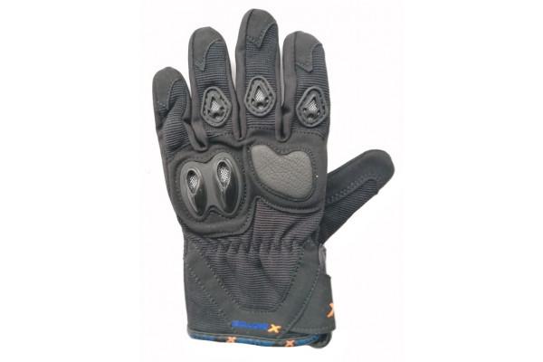 Motocross gloves XMOTOS for kids - black