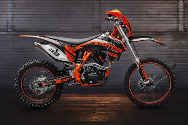 Motorcycle XMOTOS - XB39 PRO 250cc 4t 21/18