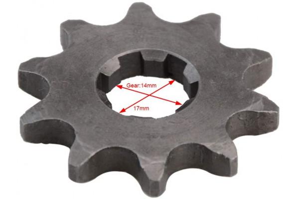 Řetězové kolečko XB27/XB87 420-14Zb